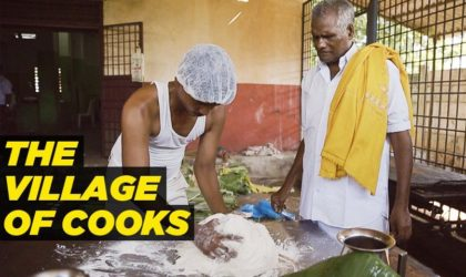 Every Family In This Indian Village Of Kalayur Has a Male Cook!