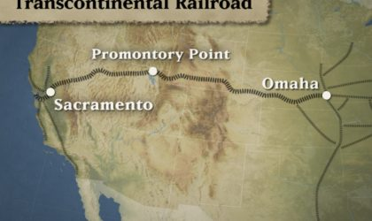 Did You Know About The First Transcontinental Railroad