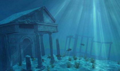 The Lands That Sank Into The Underwater Is Something That Can't Be Forgotten