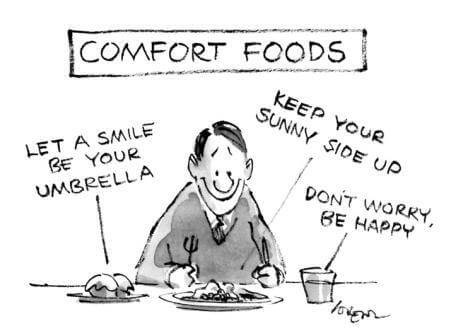comfort food suits you