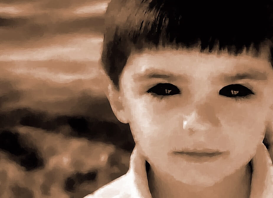 black eyed children kids