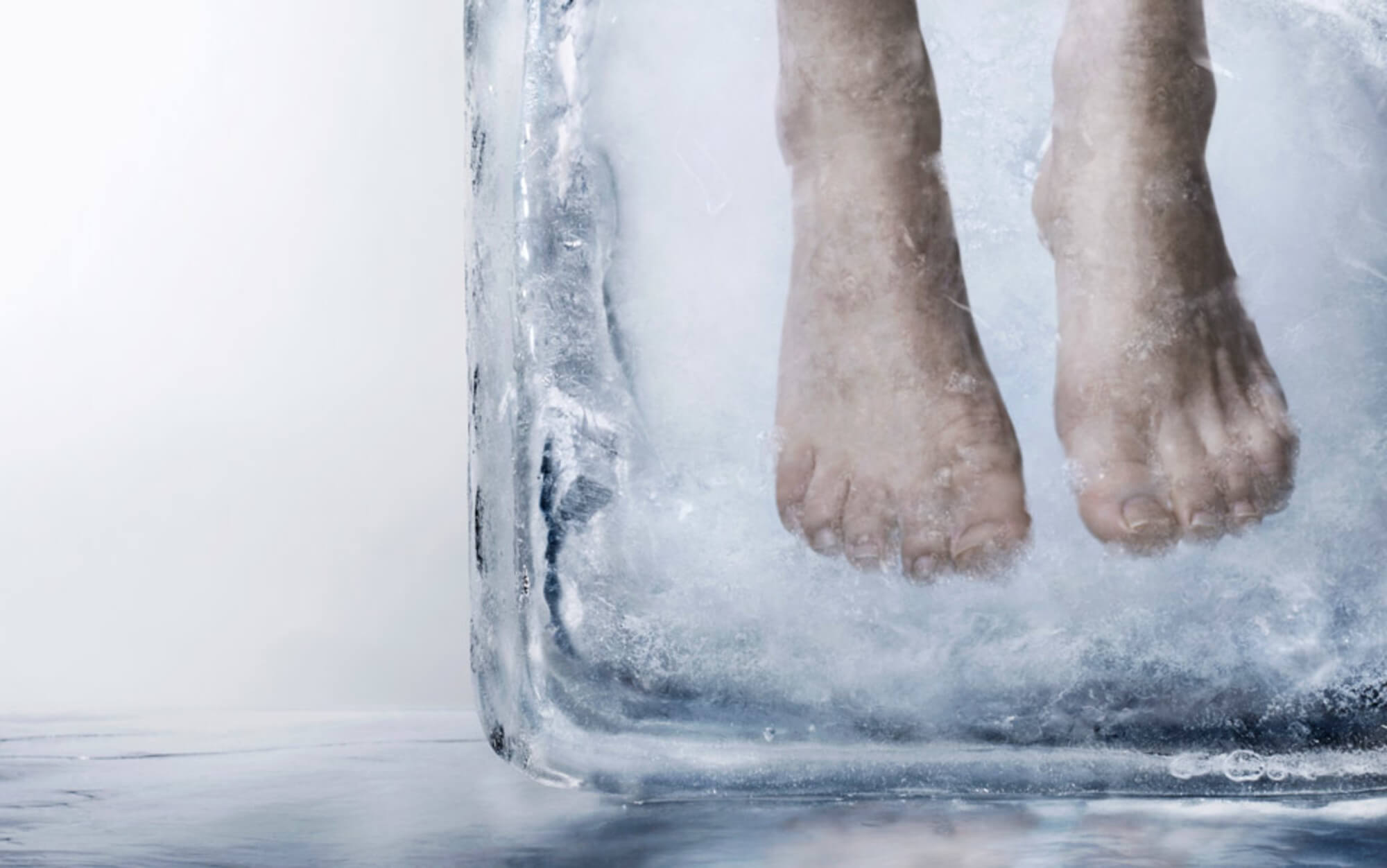 cryonics frozen preservation process