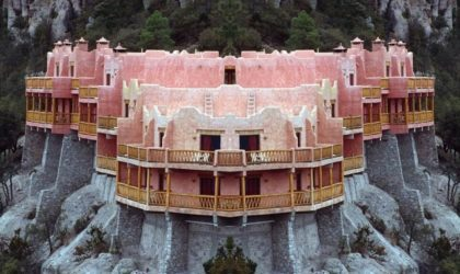 Are You Aware Of Grand Sugar Pink Clifftop Hotel That Looks Like A Castle Cake?