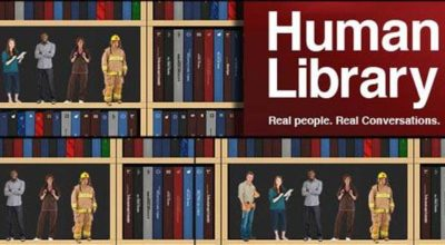 human library people replace books