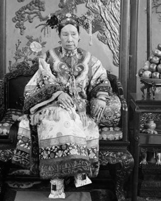 Dowager Empress Cixi Regent of China