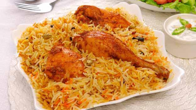 most loved rice dish biryani