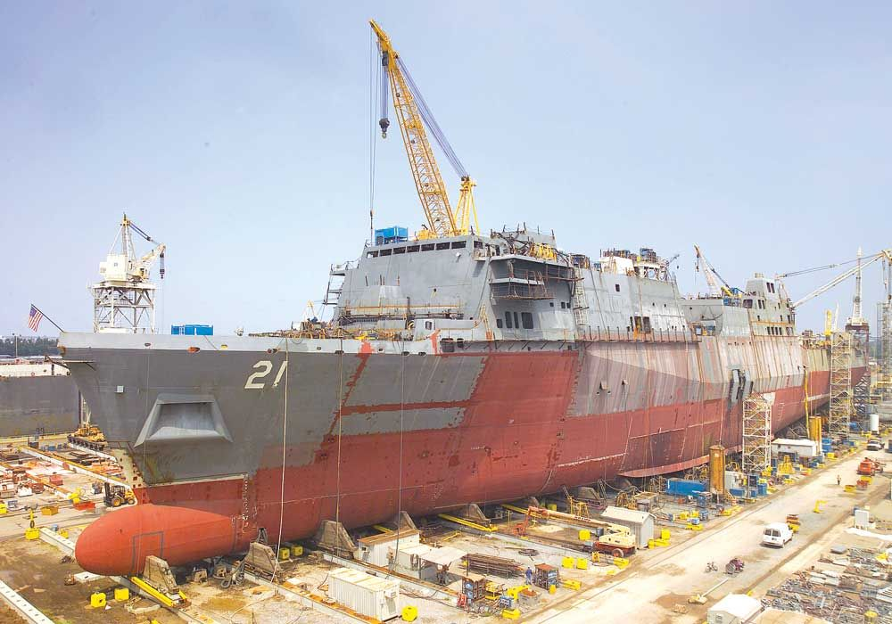 construction of ship
