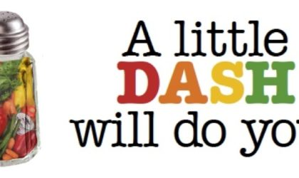 DASH – A Lifestyle For Persons With High Blood Pressure