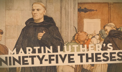 Do You Know About 95 Theses Of Martin Luther?