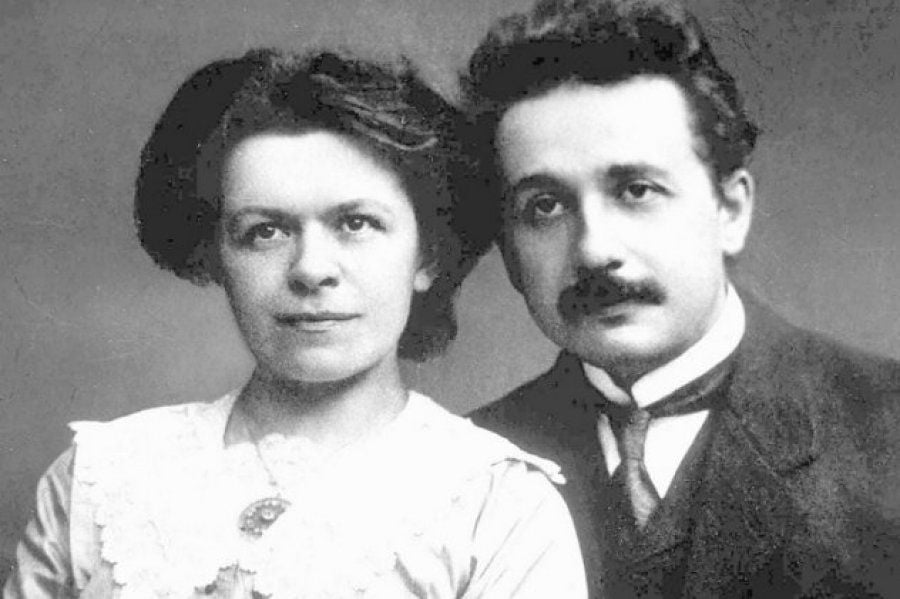 albert einstein and mileva maric