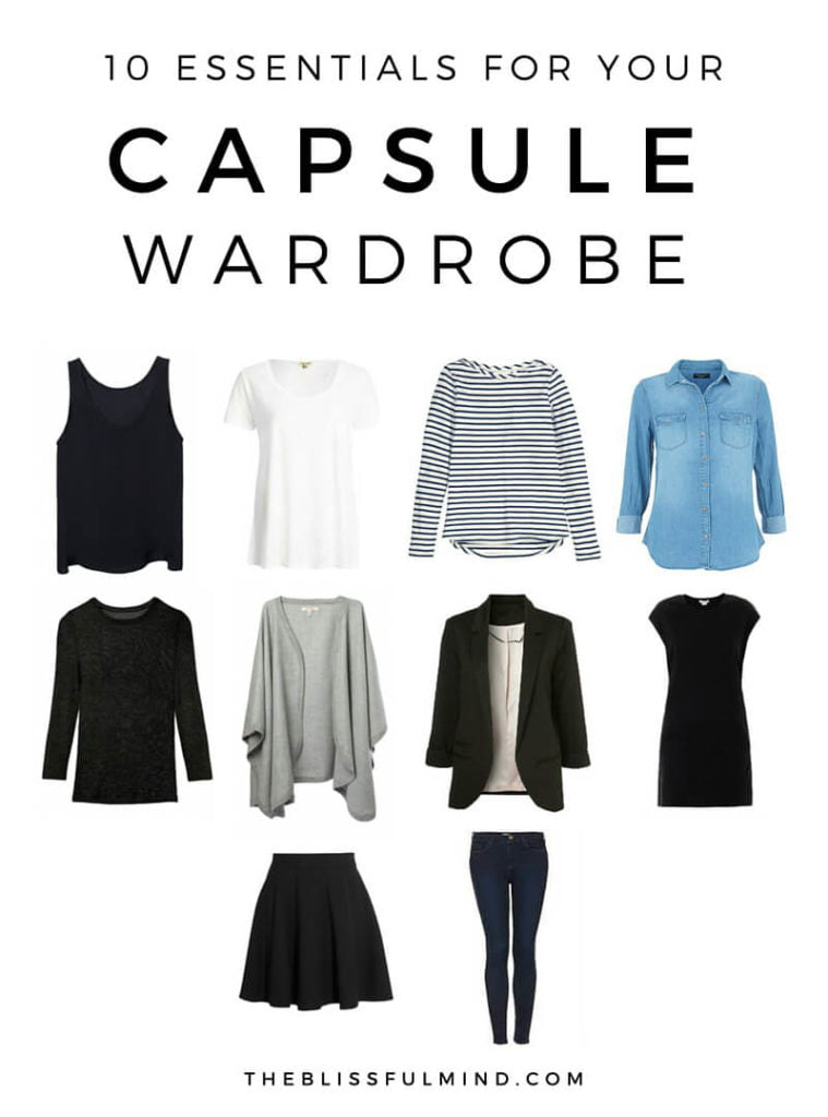 essentials capsule wardrobe