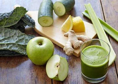 green juice health drink