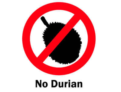size and availability of durian fruit