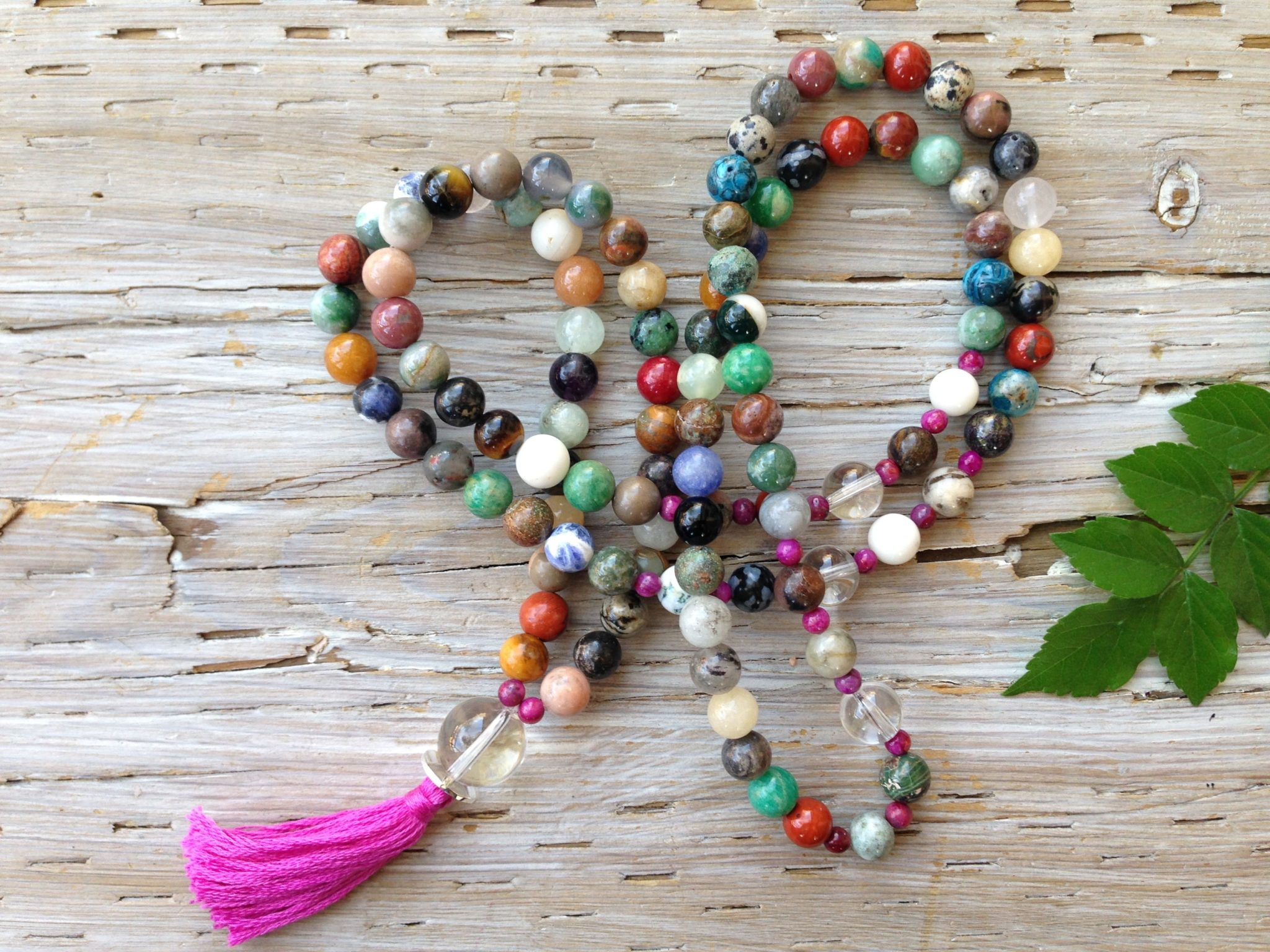 coloured mala beads importance and significance