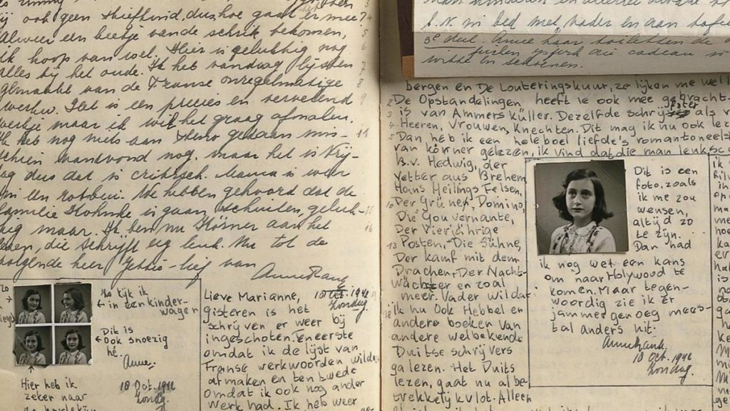 famous author anne frank the diary of a young girl