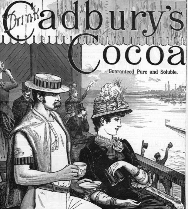 cadbury chocolate beginning