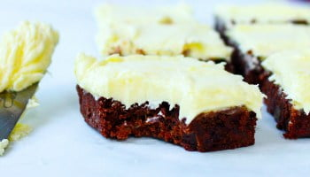 mango chocolate brownie