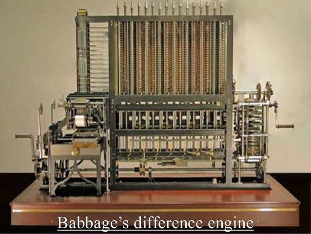 inventions of charles babbage