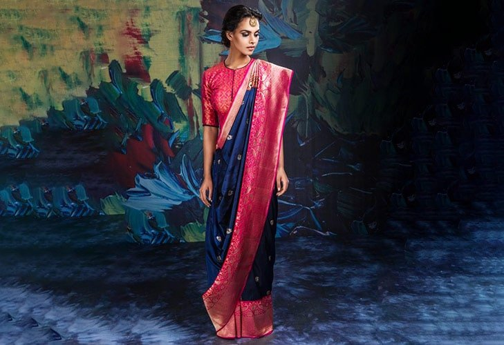 origin of traditional saree sari