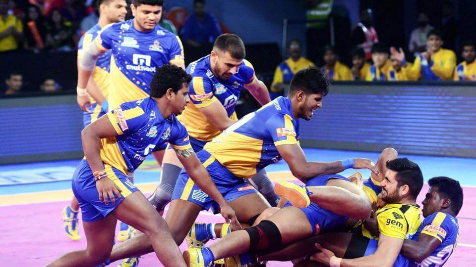theories behind kabaddi game
