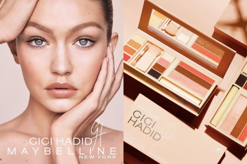 gigi hadid maybelline new york collection