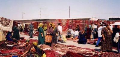 Tolkuchka Bazaar--Procaffenation