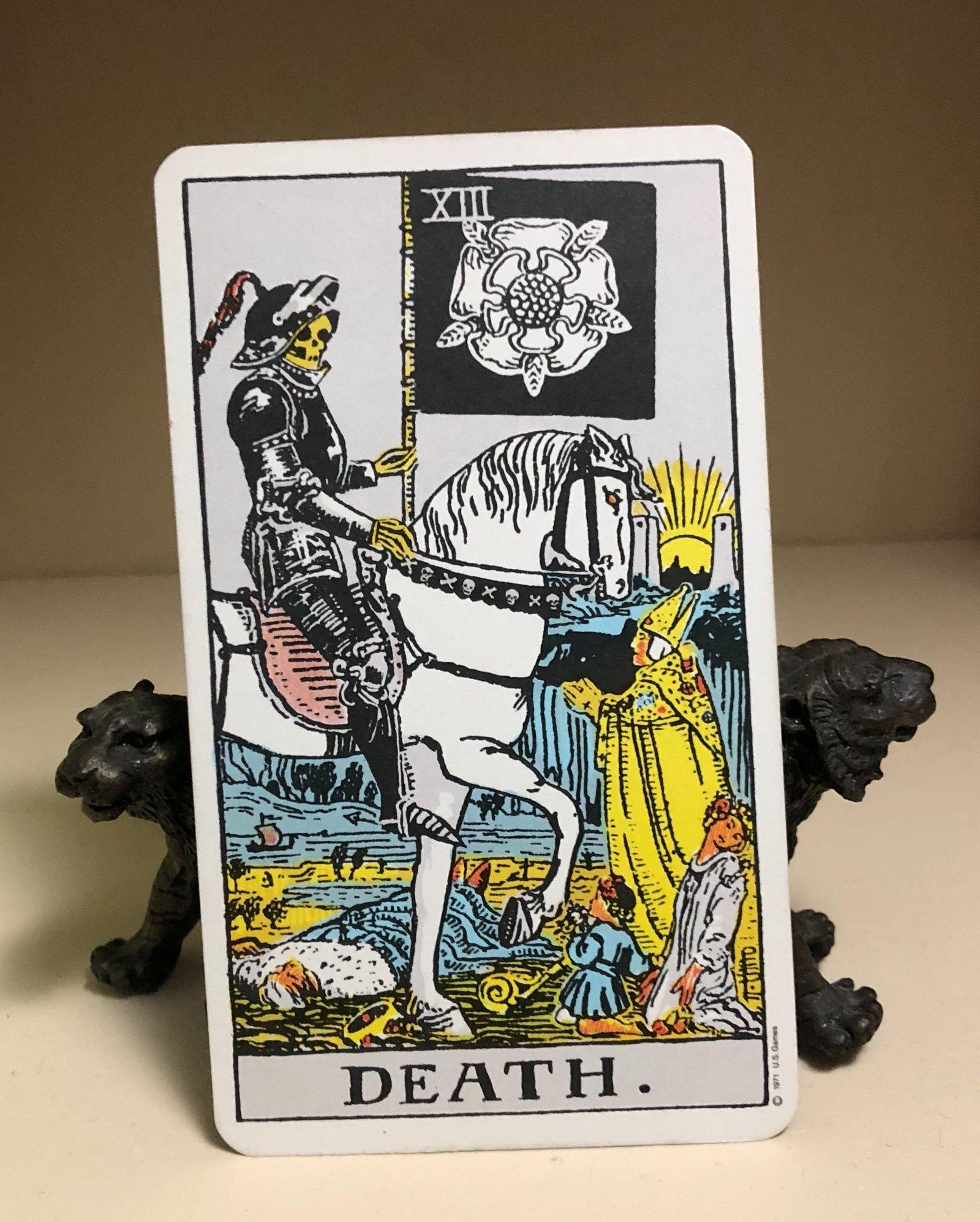 Number 13 Tarot Death Card