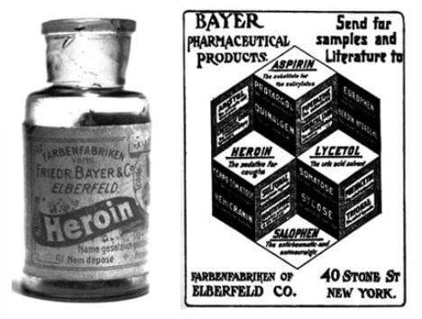 Heroin cough syrup--Procaffenation
