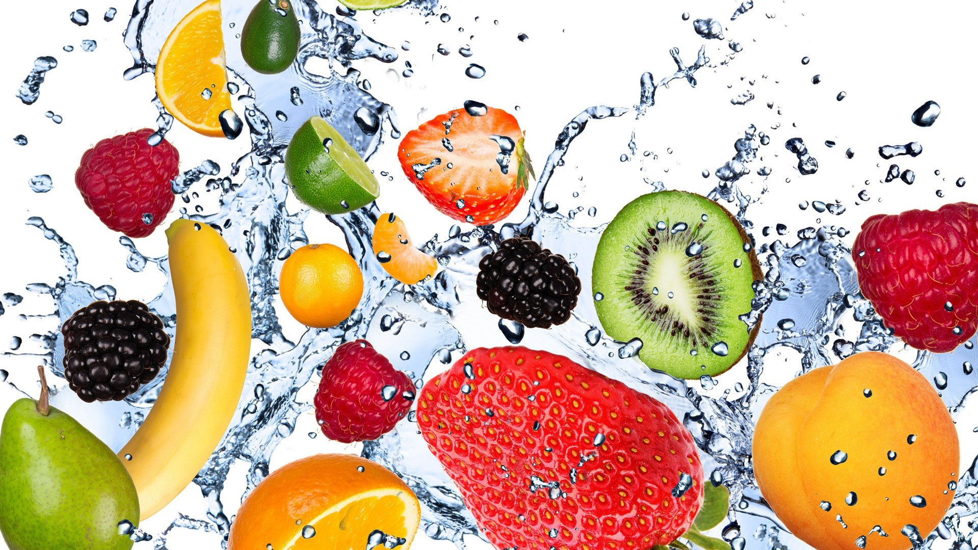 Food combination water with fruit