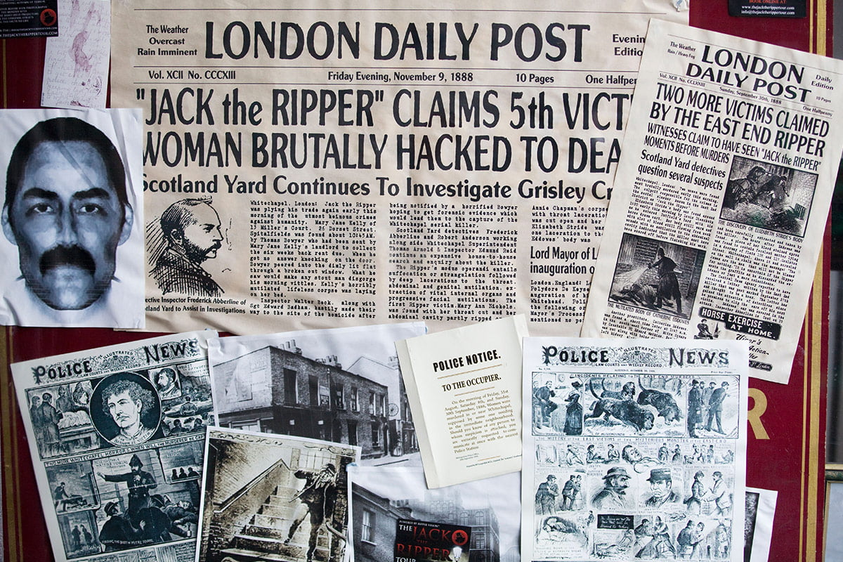 Number 13- Jack the Ripper
