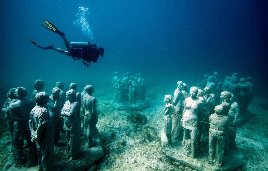 Cancún Underwater Museum, Mexico