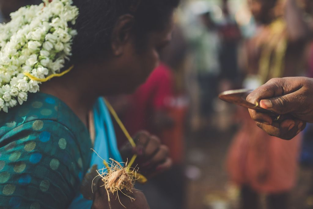 ritual practice at the festival