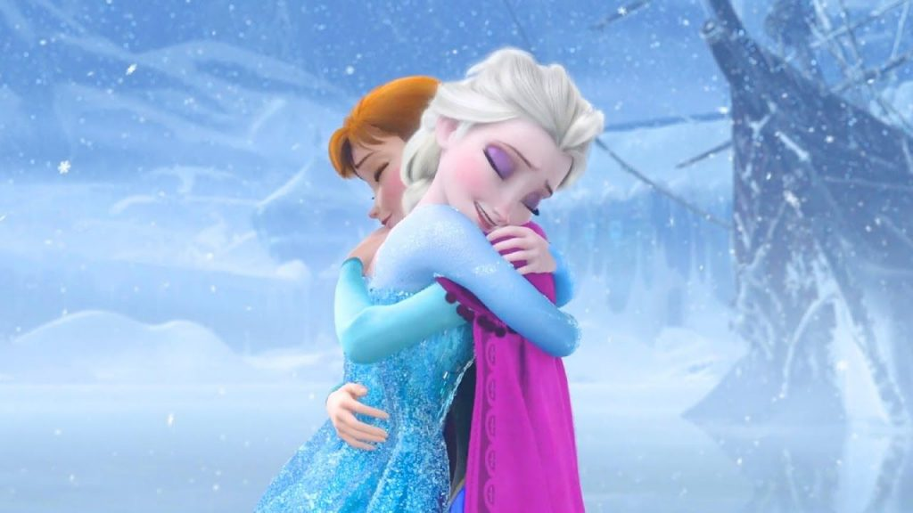 Anna saving Elsa from herself now