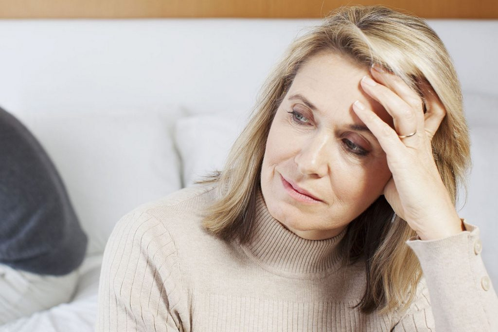 Depression as a consequence of aging