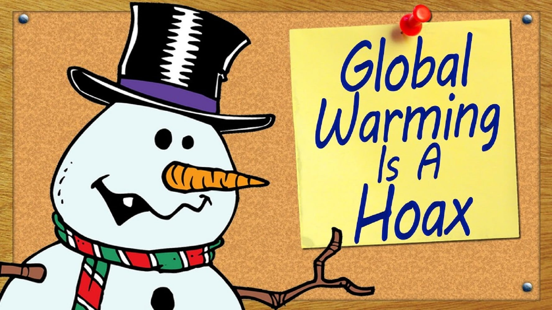 Why do sceptics believe Global Warming is a hoax?