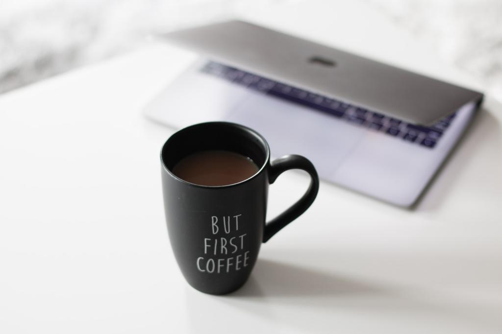 How to go about drinking coffee at work