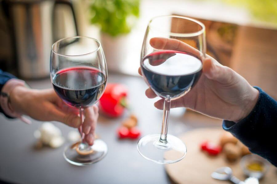 Benefits of Red wine for skin and hair