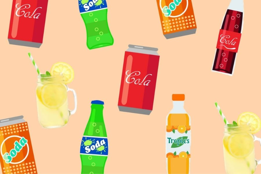Switch out the sugary drinks