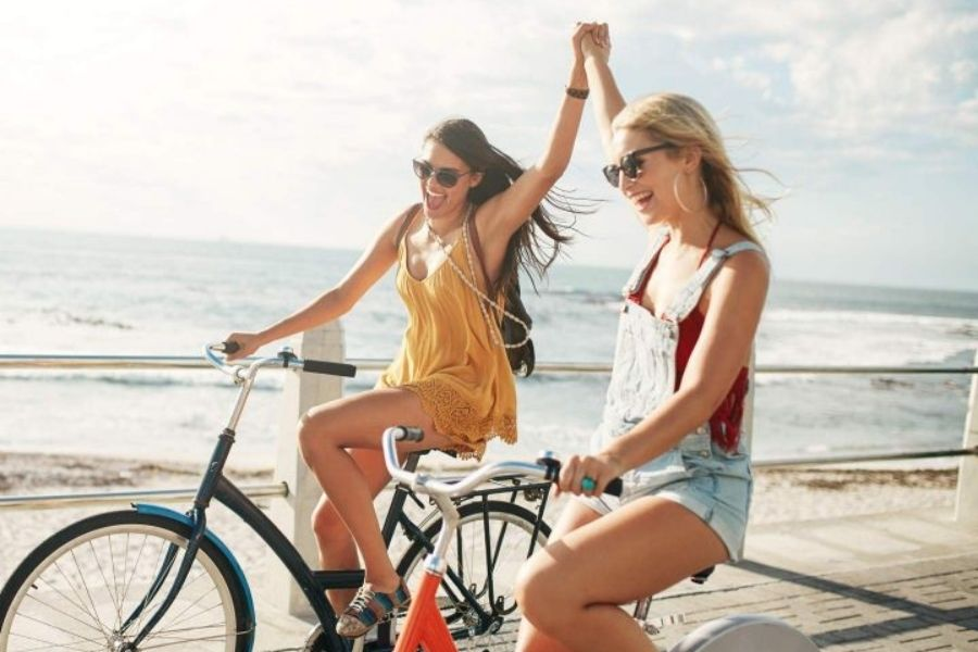 You Will Make Cycling Friends