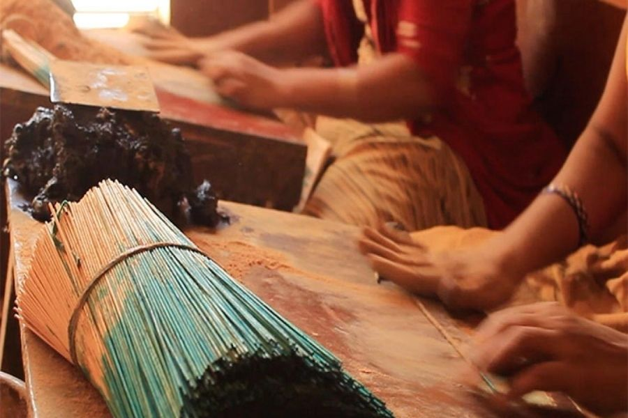 incense production