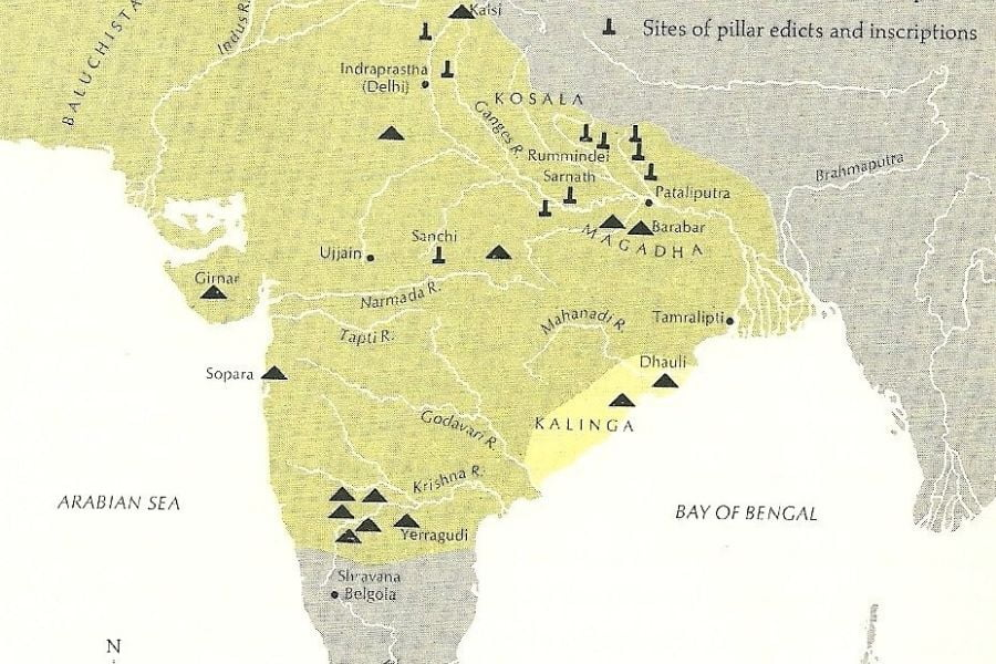 Indian map.