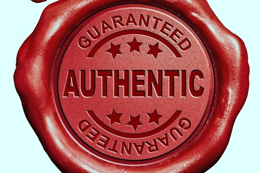 statement of authenticity